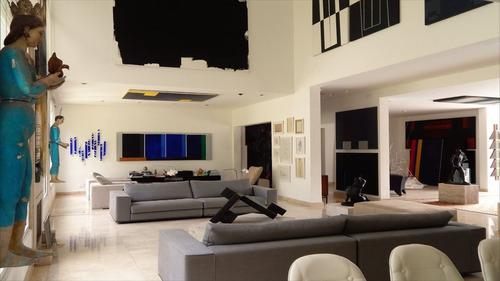 ref.: 5024 - casa condomínio fechado em cotia, no bairro são fernando golf club - 4 dormitórios