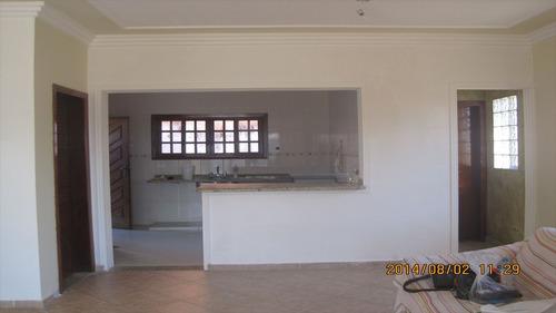 ref.: 506 - casa em itanhaem, no bairro jardim grandesp - 3 dormitórios