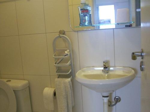 ref.: 5147 - apartamento em santos, no bairro encruzilhada - 3 dormitórios