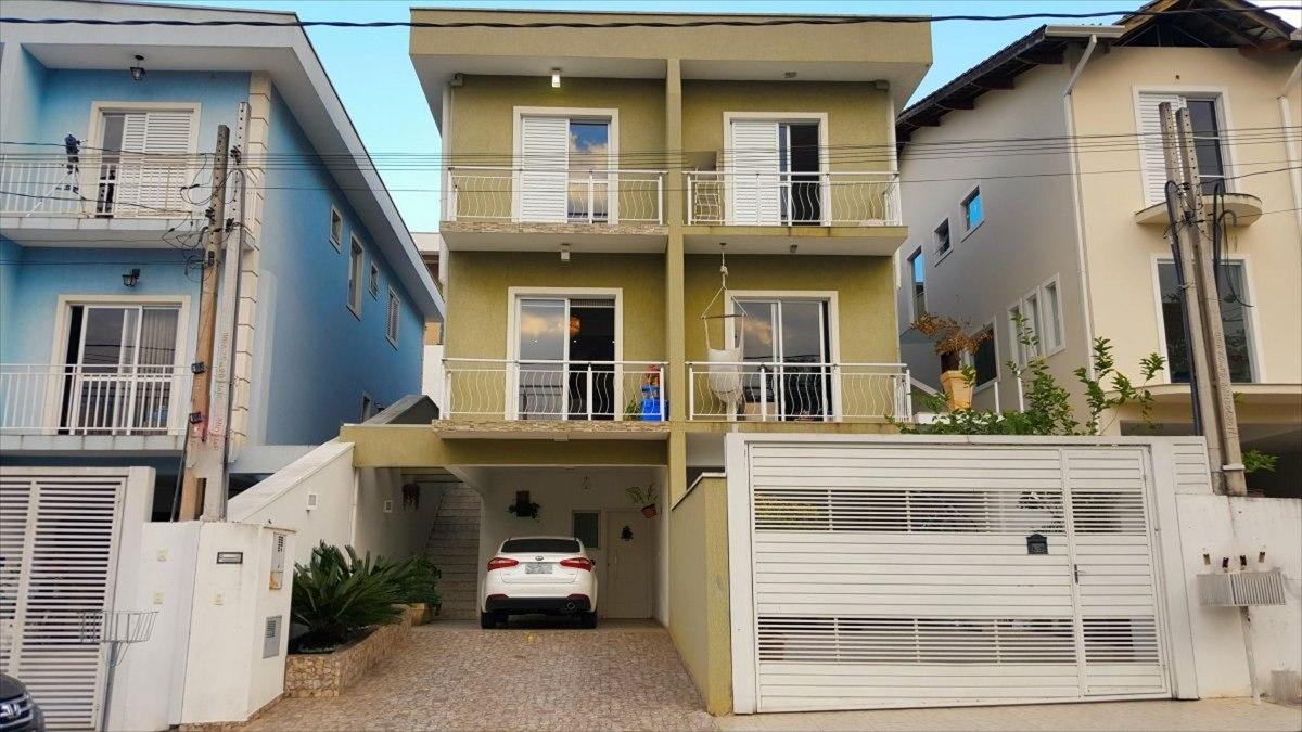 ref.: 5152 - casa condomínio fechado em cotia, no bairro vila deste - 3 dormitórios
