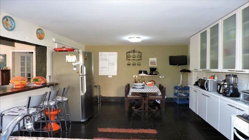 ref.: 5182 - casa condomínio fechado em carapicuiba, no bairro chacara do refugio - 4 dormitórios