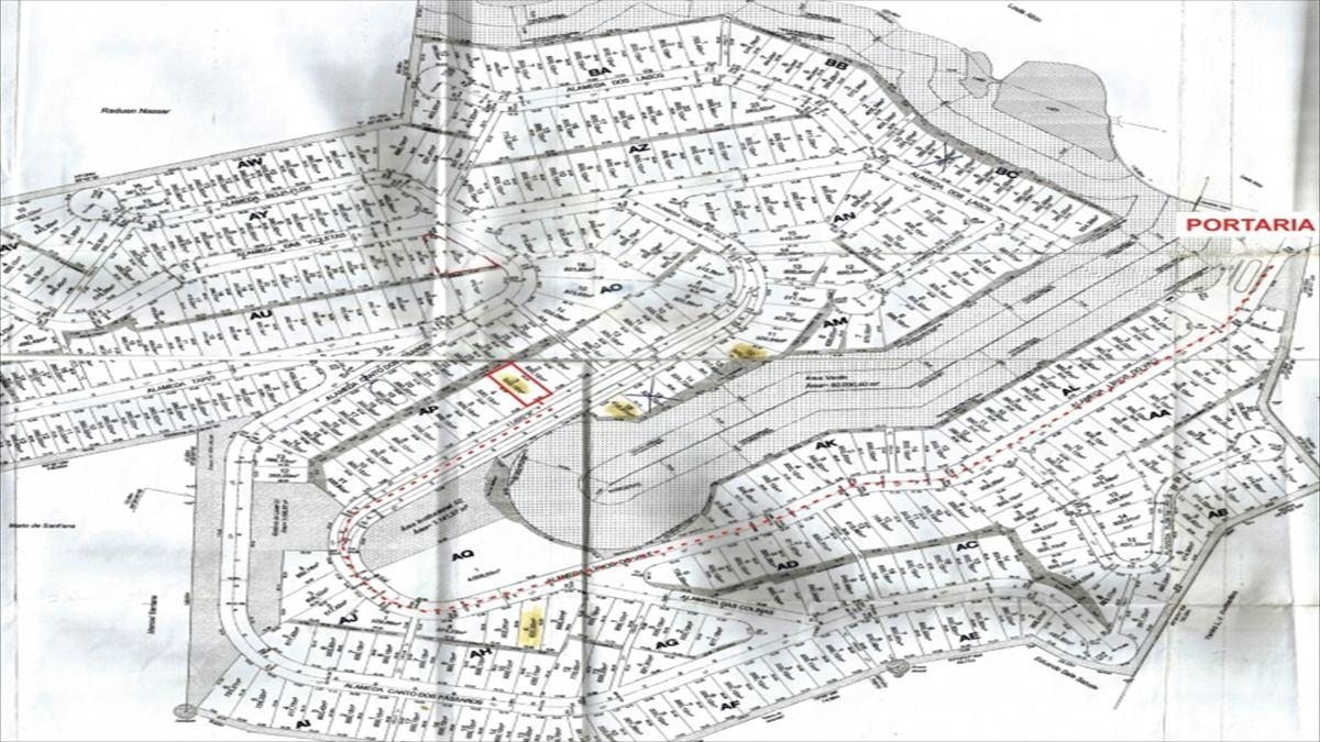 ref.: 5186 - terreno em cotia, no bairro reserva vale verde