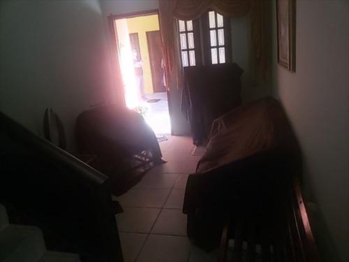 ref.: 519 - casa em mongaguá, no bairro vila atlantica - 2 dormitórios