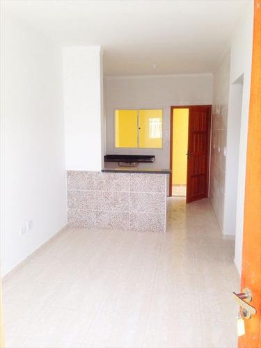 ref.: 52101 - casa condomínio fechado em praia grande, no bairro melvi - 2 dormitórios