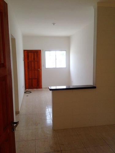 ref.: 52301 - casa condomínio fechado em praia grande, no bairro melvi - 2 dormitórios