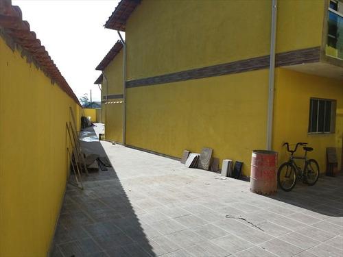 ref.: 526 - casa condomínio fechado em mongaguá, no bairro santa eugenia - 2 dormitórios