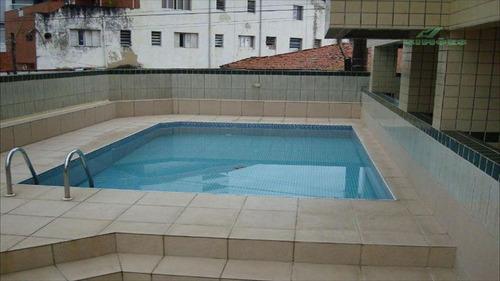 ref.: 528 - apartamento em praia grande, no bairro vila guilhermina - 1 dormitórios
