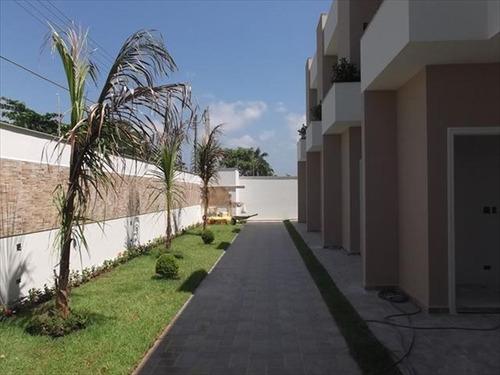 ref.: 528 - casa condomínio fechado em itanhaem, no bairro sao fernando - 2 dormitórios