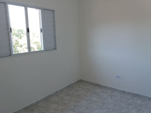 ref.: 530 - casa condomínio fechado em mongaguá, no bairro vera cruz - 2 dormitórios