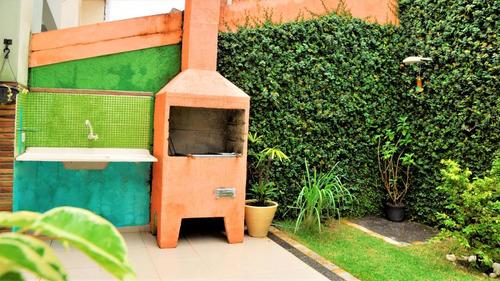 ref.: 5315 - casa condomínio fechado em cotia, no bairro jardim rio das pedras - 3 dormitórios