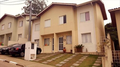ref.: 5318 - casa condomínio fechado em cotia, no bairro porto seguro residencial - 3 dormitórios