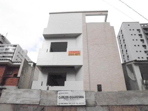 ref.: 5374 - casa em santos, no bairro pompeia - 3 dormitórios
