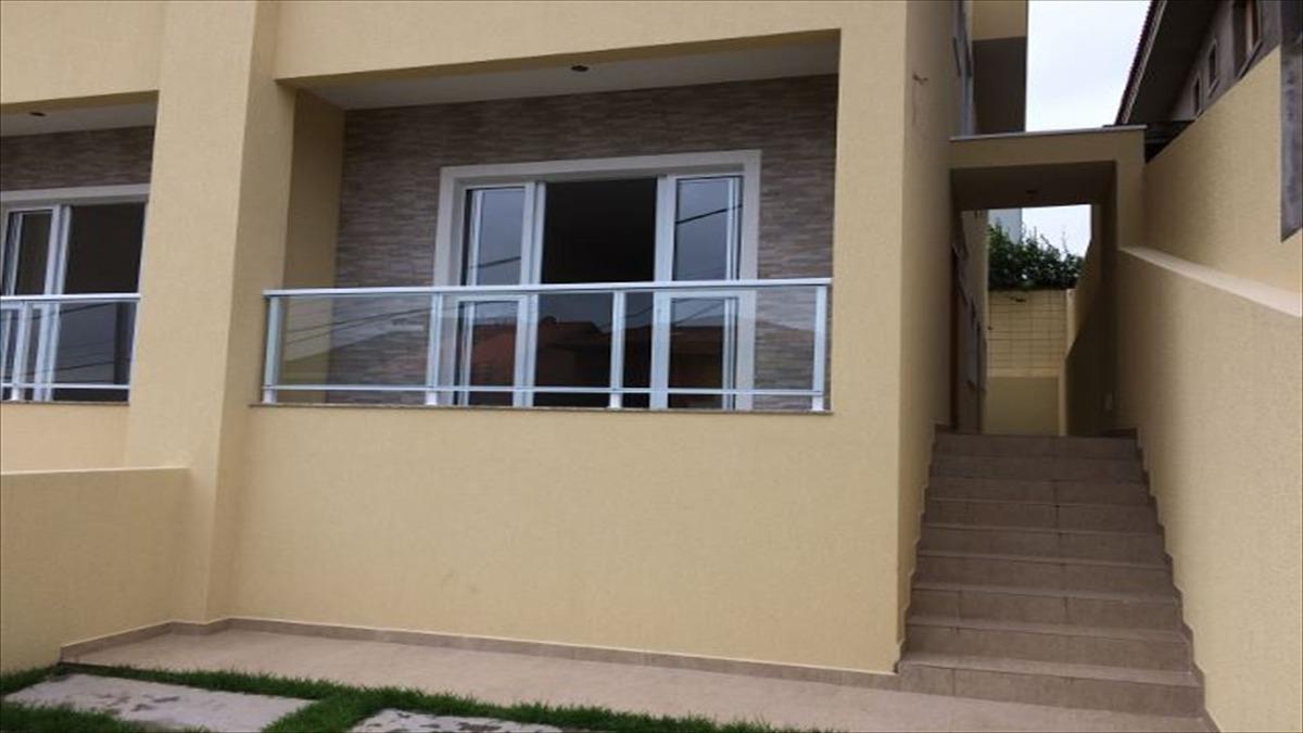 ref.: 5390 - casa condomínio fechado em cotia, no bairro vila deste - 2 dormitórios