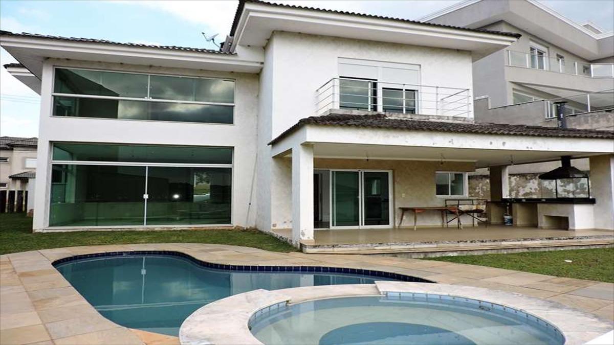 ref.: 5396 - casa condomínio fechado em cotia, no bairro sao paulo ii - 4 dormitórios