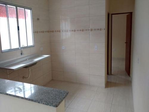 ref.: 54 - casa em mongagua, no bairro itaguai - 2 dormitórios