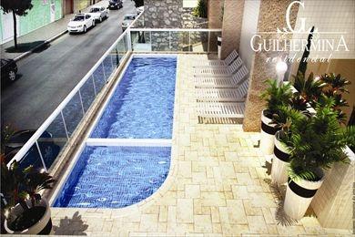 ref.: 552 - apartamento em praia grande, no bairro vila guilhermina - 2 dormitórios