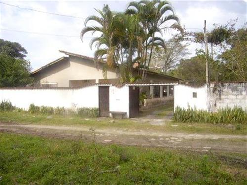 ref.: 552 - casa em itanhaem, no bairro jd. coronel - 3 dormitórios
