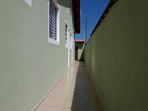 ref.: 552 - casa em mongaguá, no bairro vila atlantica - 2 dormitórios