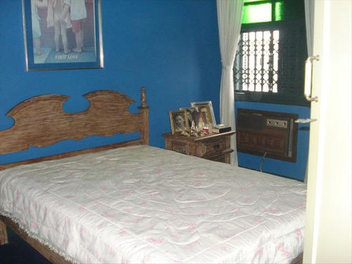 ref.: 5555 - casa em santos, no bairro boqueirão - 3 dormitórios