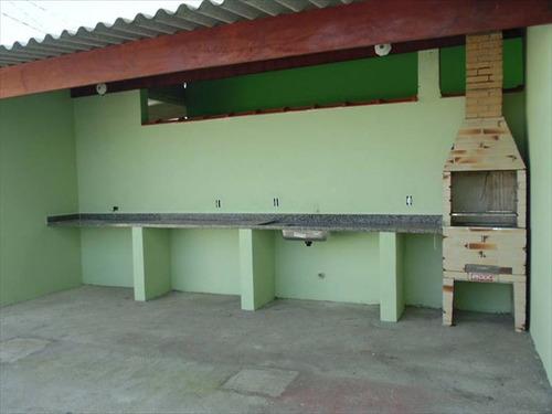 ref.: 56 - casa condomínio fechado em mongagua, no bairro parque verde mar - 2 dormitórios