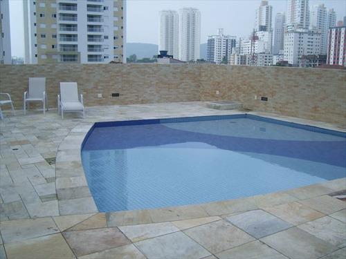 ref.: 5602 - apartamento em santos, no bairro ponta da praia - 2 dormitórios