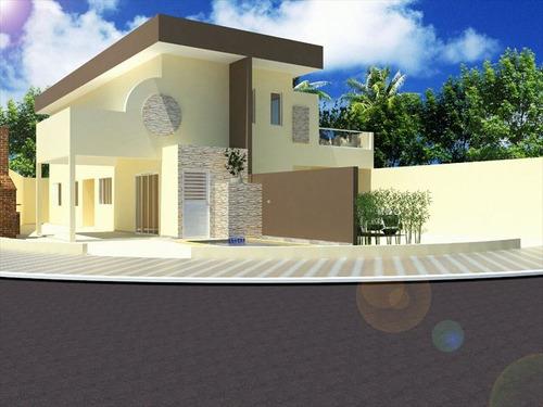 ref.: 561 - casa em itanhaém, no bairro jardim regina - 2 dormitórios
