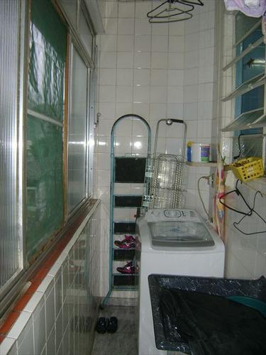 ref.: 5624 - apartamento em santos, no bairro encruzilhada - 3 dormitórios