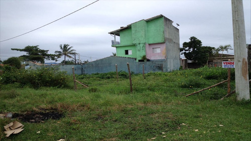 ref.: 563 - terreno em itanhaém, no bairro balneário gaivota