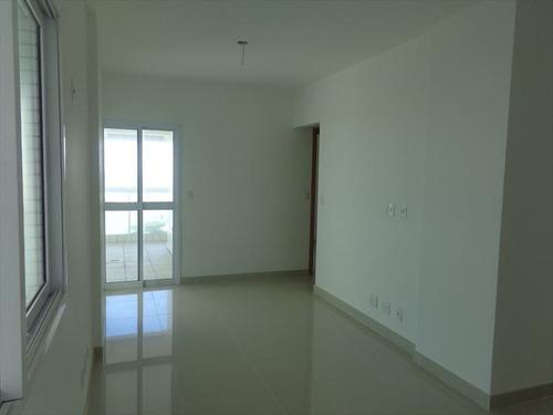 ref.: 566 - apartamento em praia grande, no bairro canto do forte - 2 dormitórios