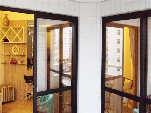 ref.: 5694 - apartamento em santos, no bairro boqueirao - 2 dormitórios