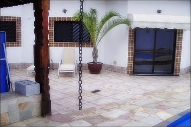 ref.: 569500 - casa em praia grande, no bairro canto do forte - 4 dormitórios