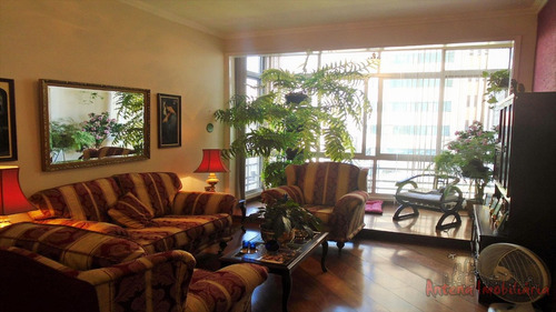 ref.: 5696 - apartamento em sao paulo, no bairro higienopolis - 3 dormitórios