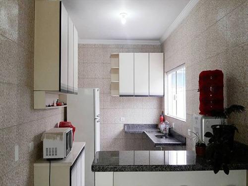 ref.: 573 - casa em mongaguá, no bairro vila atlantica - 2 dormitórios