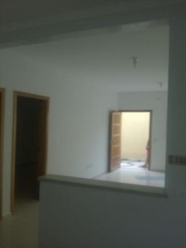 ref.: 57401 - casa condomínio fechado em praia grande, no bairro melvi - 2 dormitórios
