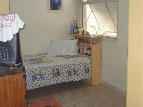 ref.: 5784 - apartamento em santos, no bairro campo grande - 2 dormitórios