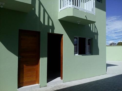 ref.: 580 - casa condomínio fechado em mongaguá, no bairro agenor de campos - 2 dormitórios