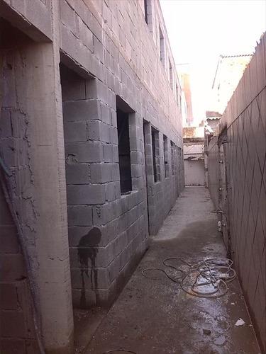 ref.: 58001 - casa condomínio fechado em praia grande, no bairro vila sonia - 2 dormitórios