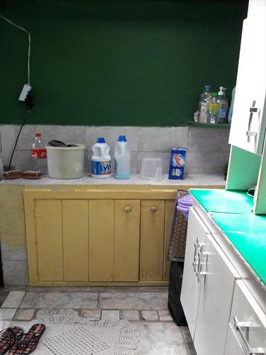 ref.: 584 - casa em mongaguá, no bairro vila atlantica - 2 dormitórios