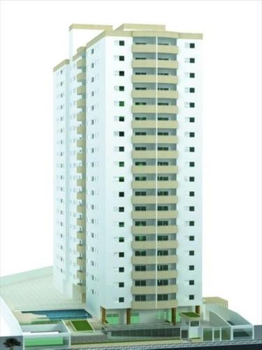 ref.: 584400 - apartamento em praia grande, no bairro guilhermina - 2 dormitórios