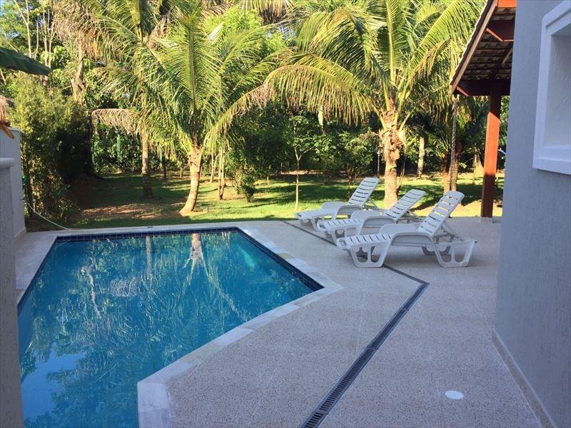 ref.: 585 - casa condomínio fechado em bertioga, no bairro guaratuba costa do sol - 5 dormitórios