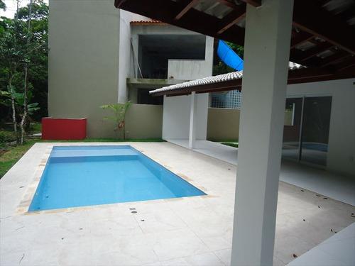 ref.: 587 - casa condomínio fechado em bertioga, no bairro guaratuba costa do sol - 3 dormitórios