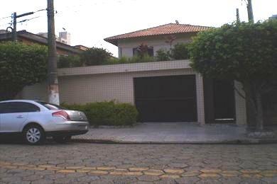 ref.: 587000 - casa em praia grande, no bairro canto do forte - 4 dormitórios