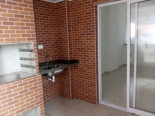 ref.: 588 - apartamento em mongaguá, no bairro agapeu - 2 dormitórios