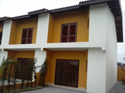 ref.: 589 - casa em itanhaem, no bairro bopiranga - 2 dormitórios