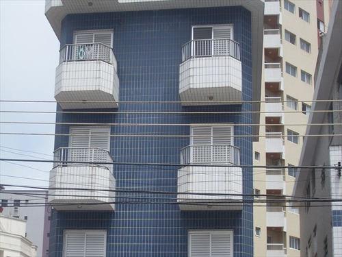ref.: 59101 - apartamento em praia grande, no bairro vila guilhermina - 1 dormitórios