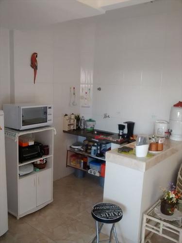 ref.: 593 - apartamento em praia grande, no bairro mirim - 1 dormitórios