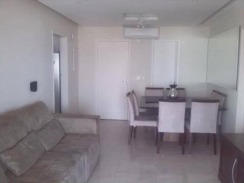 ref.: 5936 - apartamento em santos, no bairro encruzilhada - 3 dormitórios