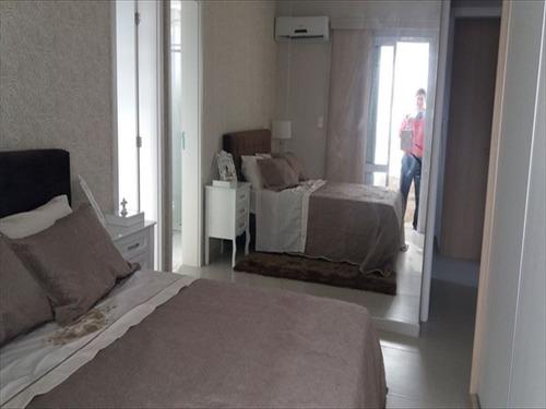 ref.: 594 - apartamento em praia grande, no bairro guilhermina - 2 dormitórios
