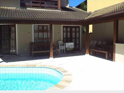 ref.: 597 - casa condomínio fechado em bertioga, no bairro guaratuba costa do sol - 5 dormitórios