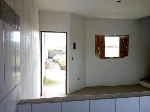 ref.: 598 - casa condomínio fechado em mongaguá, no bairro agenor de campos - 2 dormitórios
